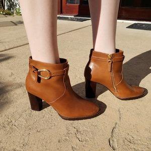 Ralph Lauren Brown booties